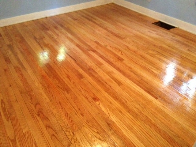 A refinished hardwood floor in orange county, ca