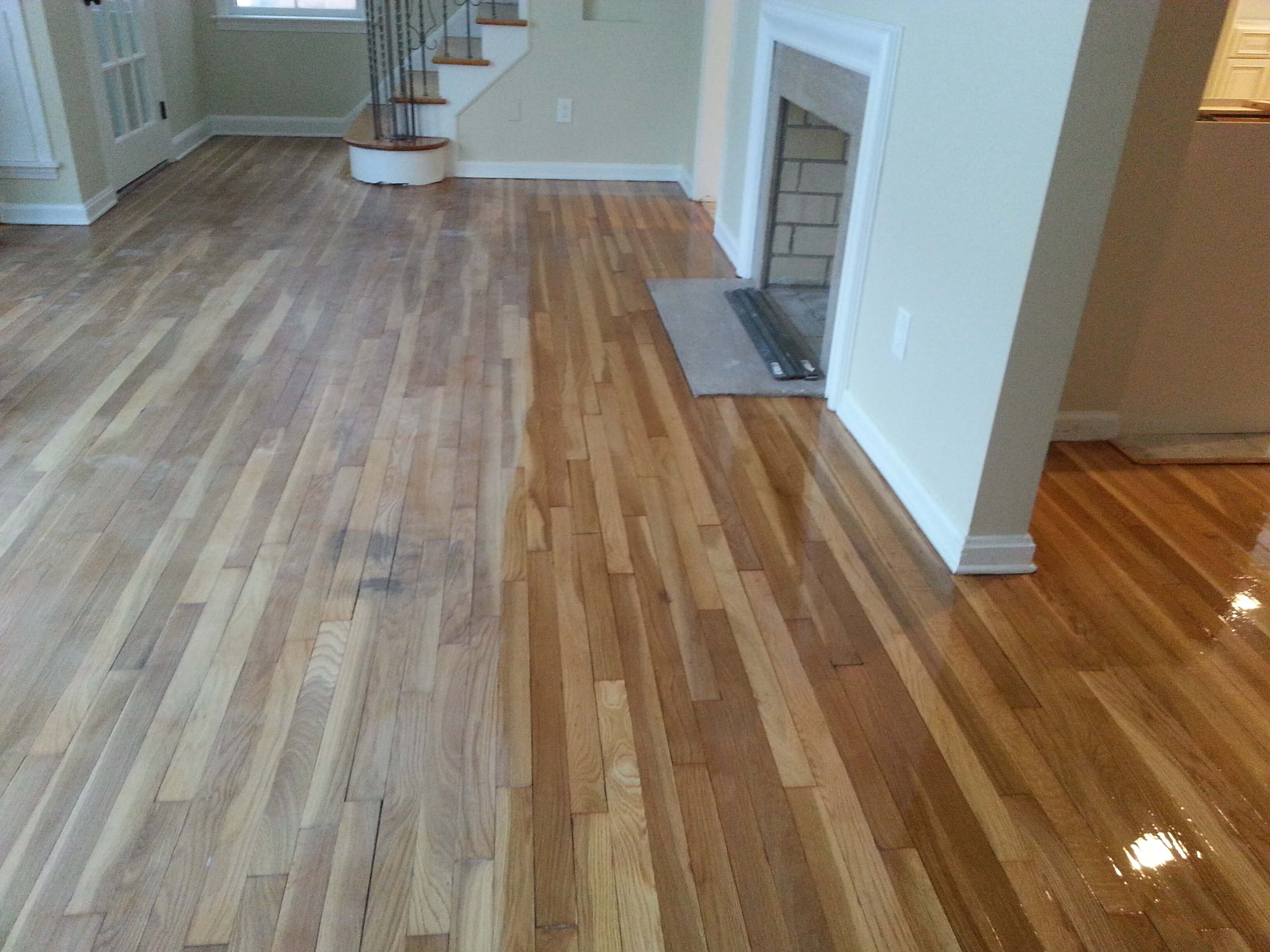 The effects of restaining your wood flooring