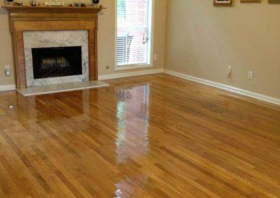 after hardwood floor resurfacing in orange county, ca