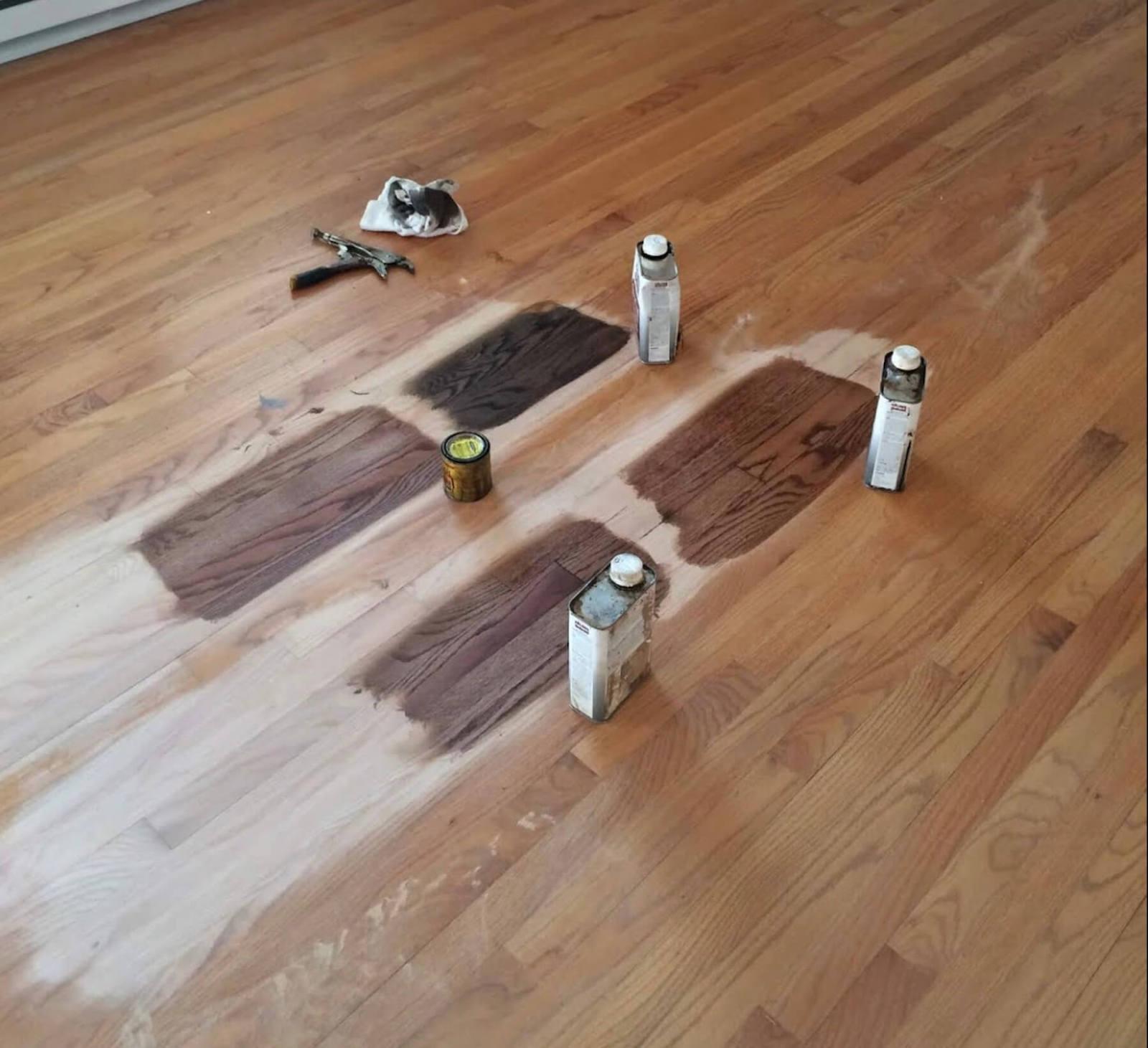 Hardwood Floor Staining in Orange County, CA