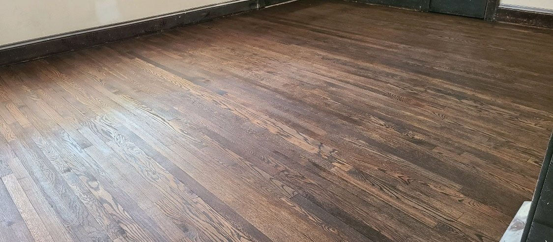 after a hardwood floor refinishing in dana point, ca